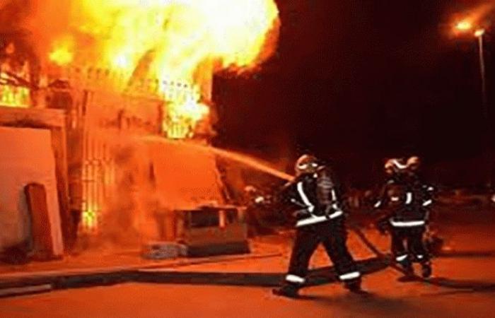 الوفد -الحوادث - السطيرة على حريق بمحل للأدوات المنزلية بالغربية موجز نيوز