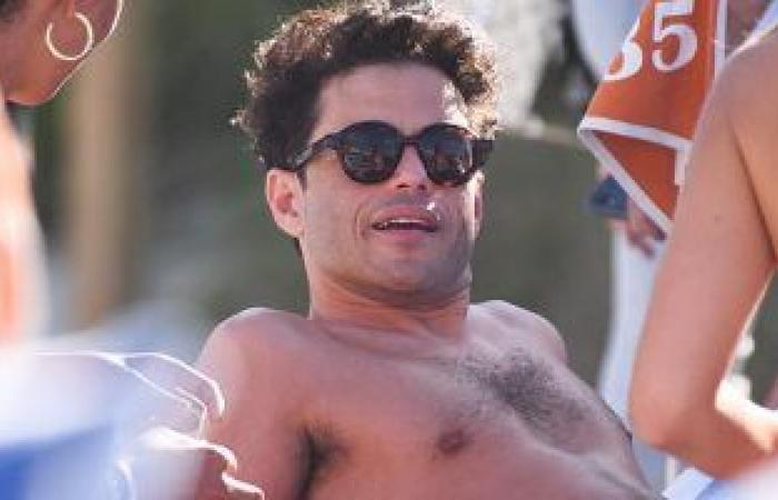 """#اليوم السابع - #فن - رامي مالك يقضى يقضى إجازة فى ميامى برفقة أصدقائه المقربين  """"صور"""""""