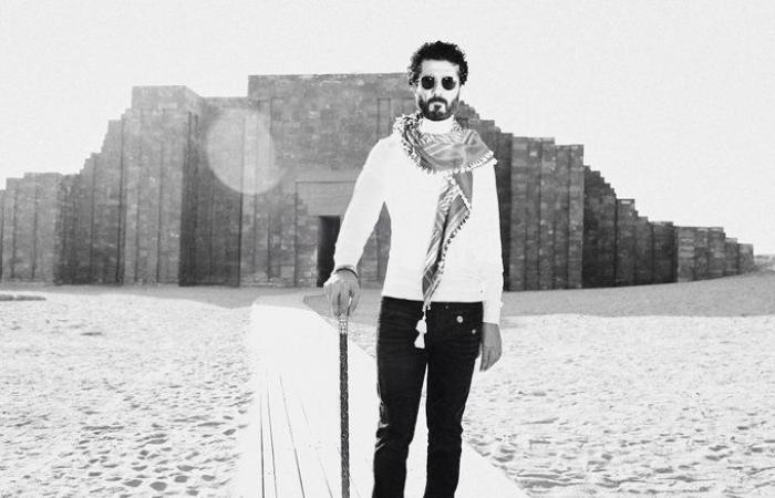 """#اليوم السابع - #فن - خالد النبوى فى صورة أمام مزار فرعونى: """"كل اللى عملوا ده والتاريخ طفل بيحبى"""""""