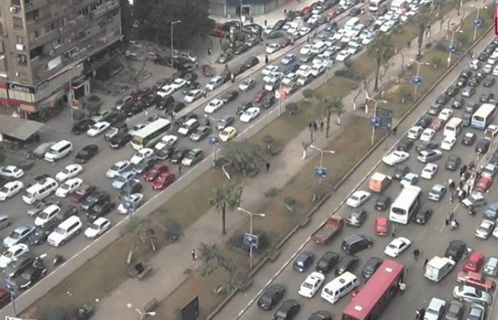الوفد -الحوادث - الحالة المرورية بشواع العاصمة اليوم الخميس موجز نيوز