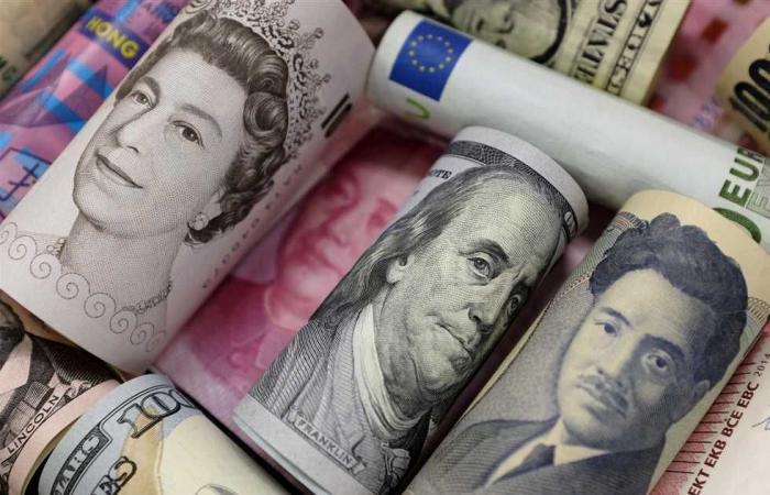 #المصري اليوم - مال - أسعار الدولار والعملات العربية والأجنبية اليوم الخميس 8 أبريل في البنوك المصرية موجز نيوز