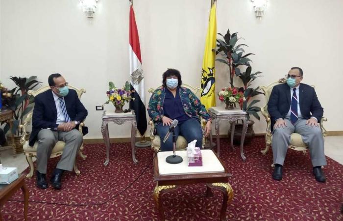 المصري اليوم - اخبار مصر- محافظ شمال سيناء: زيارة وزيرة الثقافة للعريش حدث كبير موجز نيوز