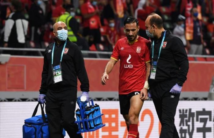 قمصان: إصابة ياسر قد تمنعه من مباراة سيمبا.. و5 أسابيع لعودة معلول