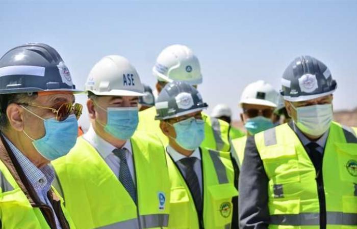 المصري اليوم - اخبار مصر- وزير الكهرباء يزور موقع إنشاء محطة الضبعة النووية برفقة وفد روسي رفيع المستوى موجز نيوز
