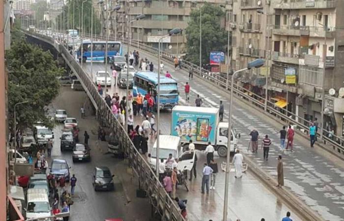 #المصري اليوم -#حوادث - بدء غلق جزئي لـ كوبري الدقي لمدة 3 أيام موجز نيوز