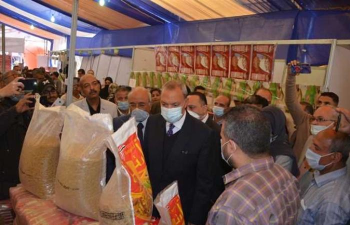 المصري اليوم - اخبار مصر- محافظ القليوبية يفتتح معارض أهلا رمضان في 4 مدن بالتنسيق مع الغرفة التجارية (صور) موجز نيوز