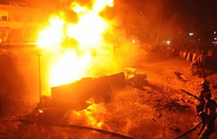 الوفد -الحوادث - السيطرة على حريق بجوار مصنع ورق في القليوبية موجز نيوز