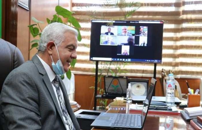 المصري اليوم - اخبار مصر- رئيس جامعة المنوفية يستقبل وفد من الهيئة القومية لضمان جودة التعليم والاعتماد موجز نيوز