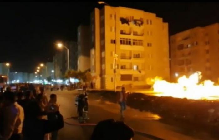 الوفد -الحوادث - بالفيديو.. انفجار خط غاز طبيعي بمساكن أبو الوفا بـ 6 أكتوبر موجز نيوز