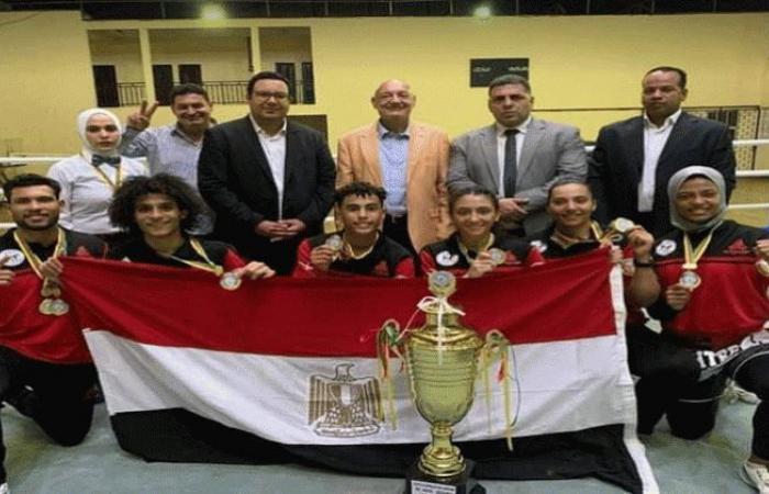 الوفد رياضة - مصر تحصد المركز الأول وكأس بطولة أفريقيا للكيك بوكسينج في الكاميرون موجز نيوز