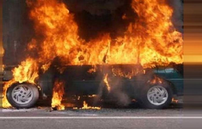 الوفد -الحوادث - إنقاذ سائق بعد اشتعال شاحنة محملة بالمازوت على الطريق الصحراوى بأسوان موجز نيوز