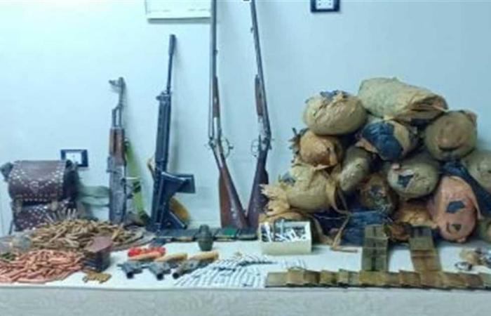 """#المصري اليوم -#حوادث - """"الداخلية"""": ضبط 169 سلاح ناري و210 قضية مخردات خلال 24 ساعة موجز نيوز"""