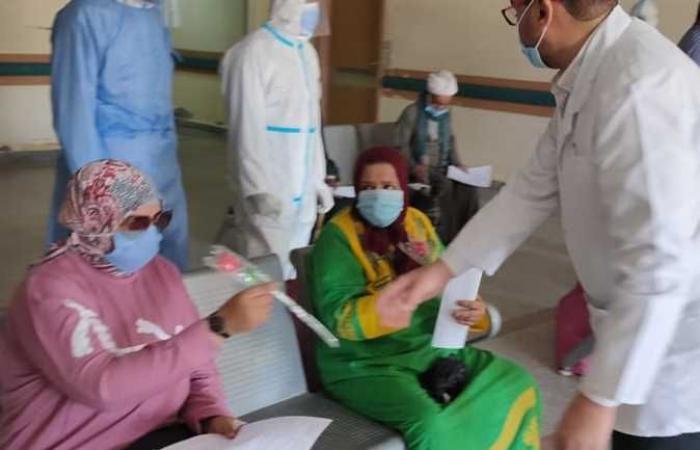 المصري اليوم - اخبار مصر- خروج وتعافى 8 حالات كورونا من مستشفى قفط التعليمي موجز نيوز