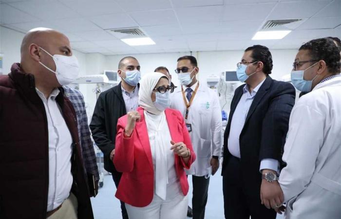 المصري اليوم - اخبار مصر- وزيرة الصحة: 230 ألف خدمة طبية لأهالي الأقصر ضمن منظومة التأمين الصحي الشامل موجز نيوز