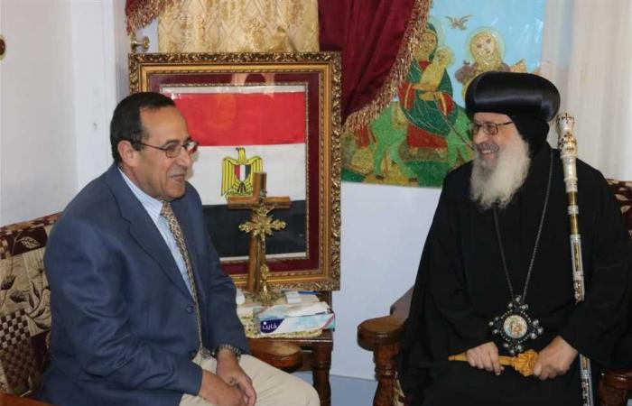 المصري اليوم - اخبار مصر- مطرانية شمال سيناء تهنئ المسلمين بمناسبة قدوم شهر رمضان موجز نيوز