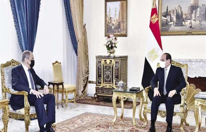 المصري اليوم - اخبار مصر- الرئيس يبحث مع وزير خارجية روسيا استئناف الرحلات الجوية وأزمة سد النهضة موجز نيوز