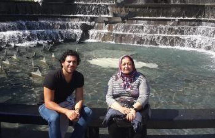 #اليوم السابع - #فن - حسن الرداد ينشر صورة لوالدته الراحلة.. ويعلق: ضحكتك وروحك معايا طول الوقت
