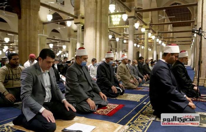 المصري اليوم - اخبار مصر- «أوقاف القليوبية»: لم يتم رصد أي مخالفات في أول صلاة تراويح بشهر رمضان موجز نيوز