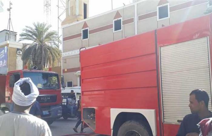 المصري اليوم - اخبار مصر- السيطرة على حريق شب في مخزن كاوتش بكوم أمبو في أسوان موجز نيوز