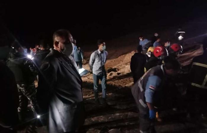#المصري اليوم -#حوادث - «الصحة»: وفاة 20 مواطنًا وإصابة 3 آخرين في حادث تصادم أتوبيس وسيارة نقل بأسيوط موجز نيوز