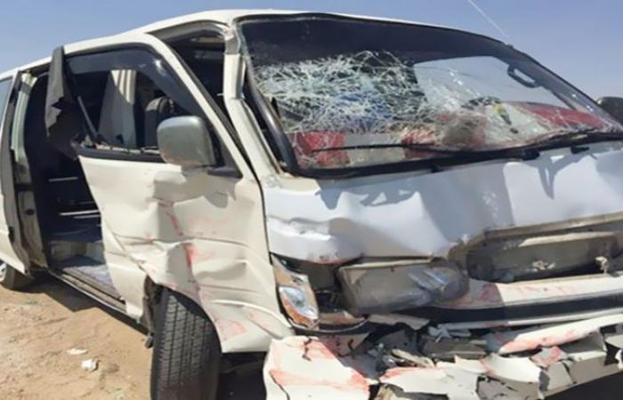 الوفد -الحوادث - إصابة 8 أشخاص في حادث تصادم بالشرقية موجز نيوز