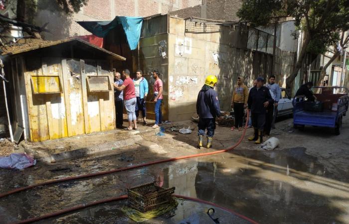 #اليوم السابع - #حوادث - الحماية المدنية بالقليوبية تسيطر على حريق بأحد أكشاك القناطر الخيرية