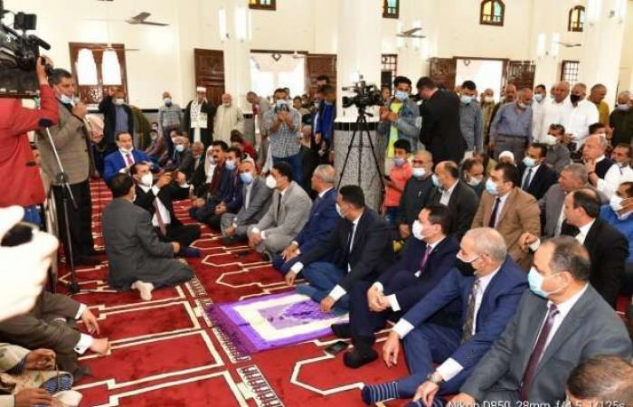 اخبار السياسه افتتاح مسجد «القنان» في الدقهلية بتكلفة 12 مليون جنيه جهود ذاتية