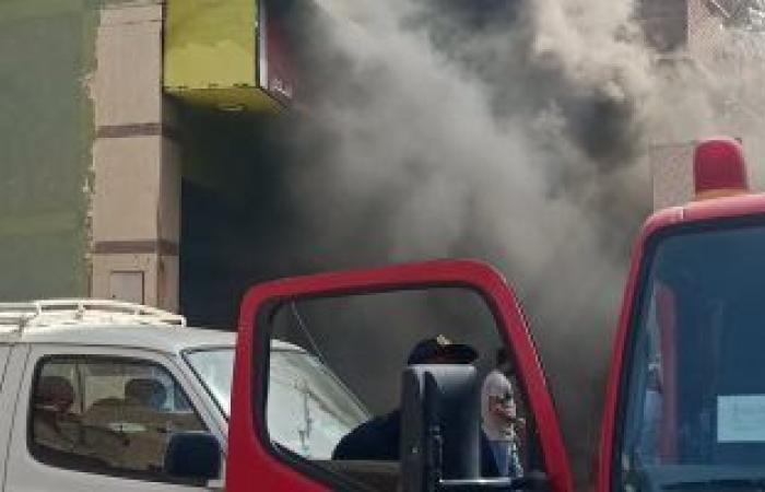 #اليوم السابع - #حوادث - اندلاع حريق بمخزن قطن وستائر فى منزل بحى الأربعين بالسويس