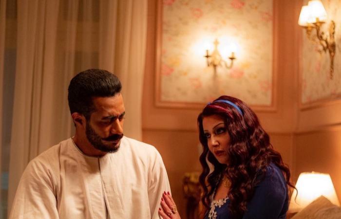 """#اليوم السابع - #فن - محمد رمضان وسمية الخشاب في صور جديدة من مسلسل """"موسى"""""""