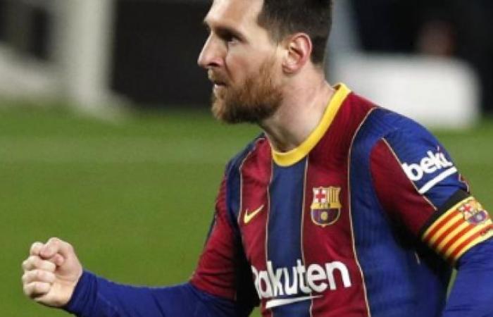 الوفد رياضة - ليونيل ميسي يضيف الهدف الثالث لبرشلونة أمام أتلتيك بلباو موجز نيوز