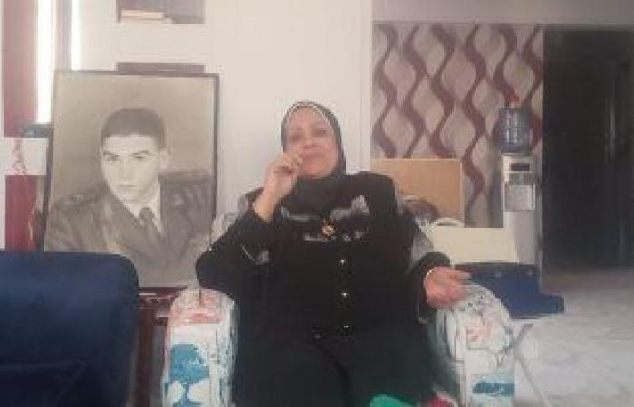 #اليوم السابع - #حوادث - فاكرنهم مش ناسينهم.. والدة الشهيد أسامة شعبان: قال لى هاجى يوم الخميس ورجع شهيد