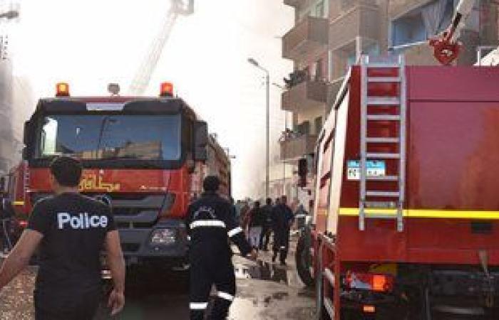 #اليوم السابع - #حوادث - حريق أسفل الكوبرى الدائرى بالوراق.. ورجال الإطفاء تحاول إخماده