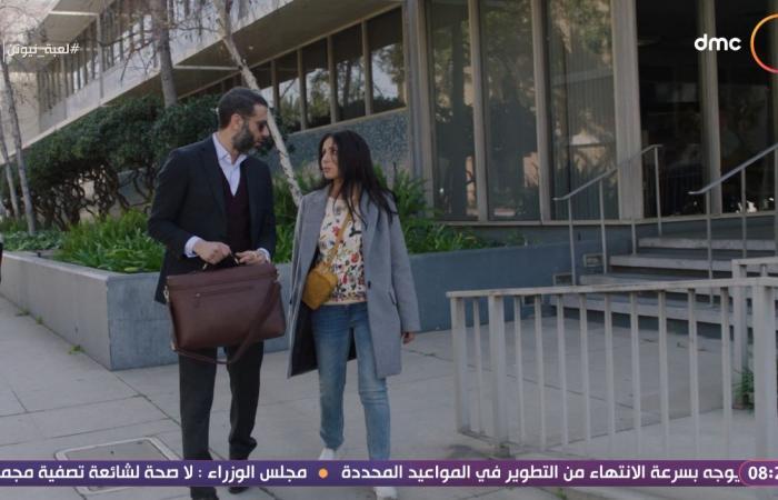 #اليوم السابع - #فن - مسلسل لعبة نيوتن الحلقة 5.. منى زكى يغمى عليها ومحمد فراج ينقذها ويصطحبها للمستشفى