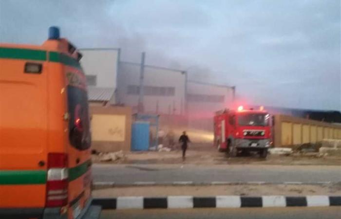 #المصري اليوم -#حوادث - إخماد حريق بمصنع السكر في المنيا موجز نيوز