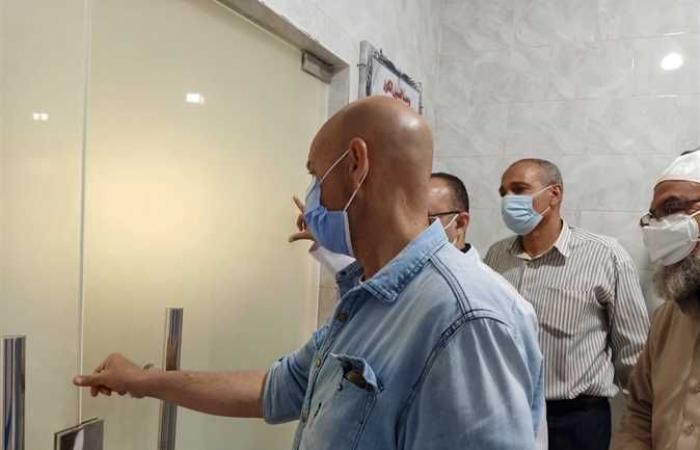 المصري اليوم - اخبار مصر- وكيل صحة الشرقية يتفقد أعمال تطوير قسم الحضانات في مستشفى الإبراهيمية (صور) موجز نيوز
