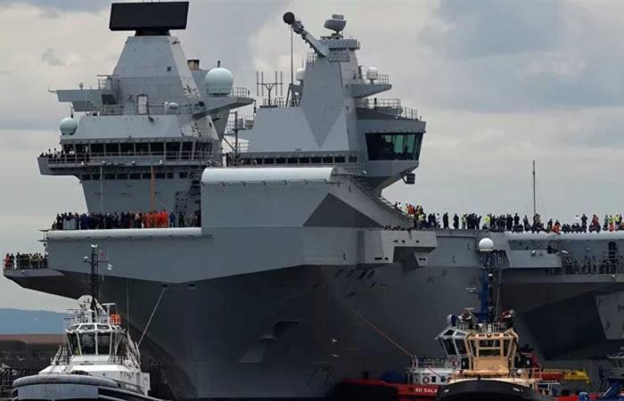 #المصري اليوم -#اخبار العالم - مع تصاعد التوترات بين أوكرانيا وروسيا.. بريطانيا ترسل سفنا حربية إلى البحر الأسود موجز نيوز