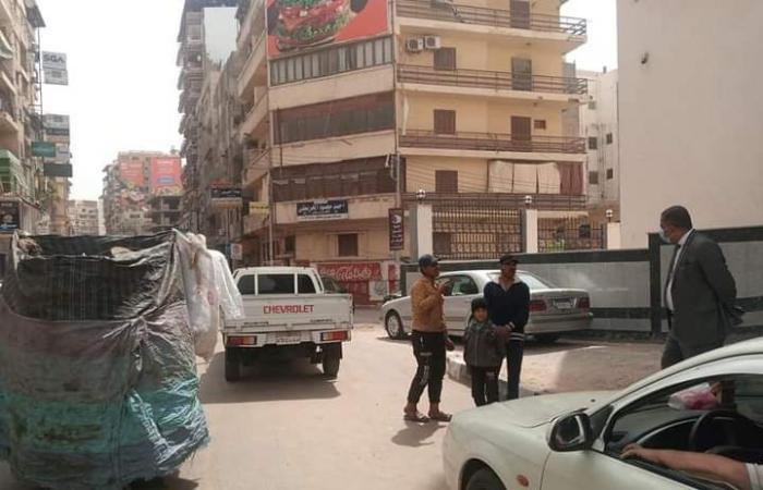 #اليوم السابع - #حوادث - ضبط تروسيكلات فى حملة على النباشين بحى غرب المنصورة