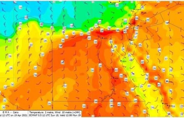 اخبار السياسه ذروة موجة حارة اليوم.. «الأرصاد» تحذر المواطنين: «ابتعدوا عن الشمس»