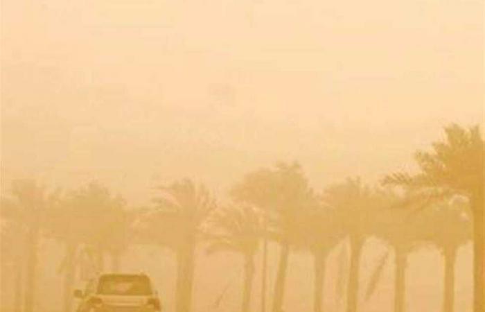 المصري اليوم - اخبار مصر- عواصف ترابية تضرب الوادي الجديد موجز نيوز