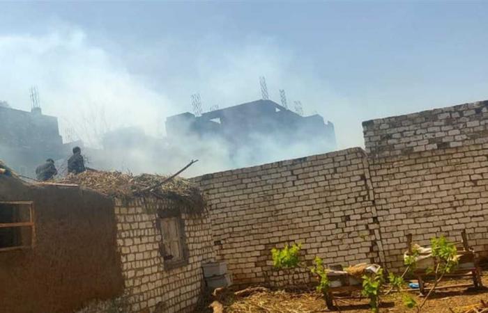 #المصري اليوم -#حوادث - السيطرة على حريق في منزلين بطوخ دون خسائر موجز نيوز