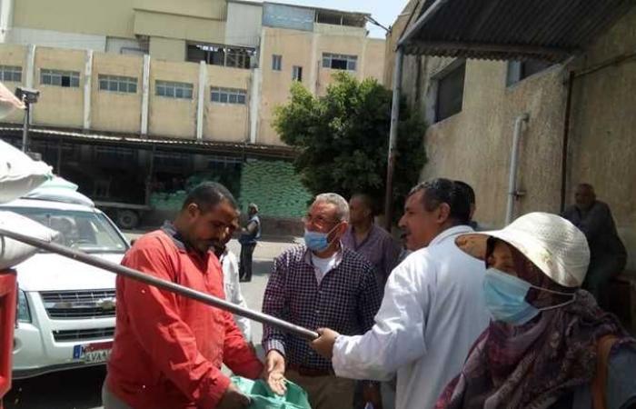 المصري اليوم - اخبار مصر- محافظ البحيرة : توريد 1425 طن قمح إلى الصوامع والشون موجز نيوز