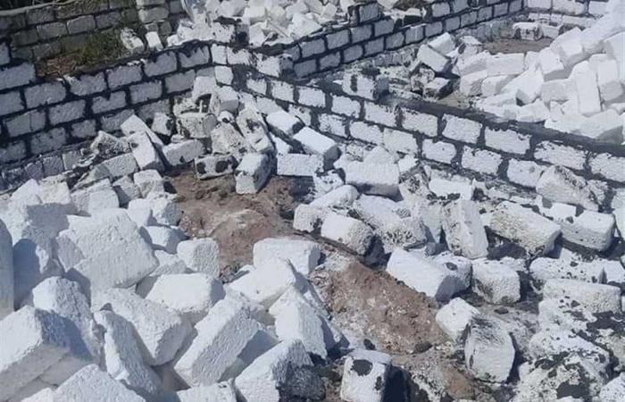 المصري اليوم - اخبار مصر- حملات لإزالة التعديات على الأراضي الزراعية والبناء المخالف بـ3 مراكز في البحيرة (صور) موجز نيوز
