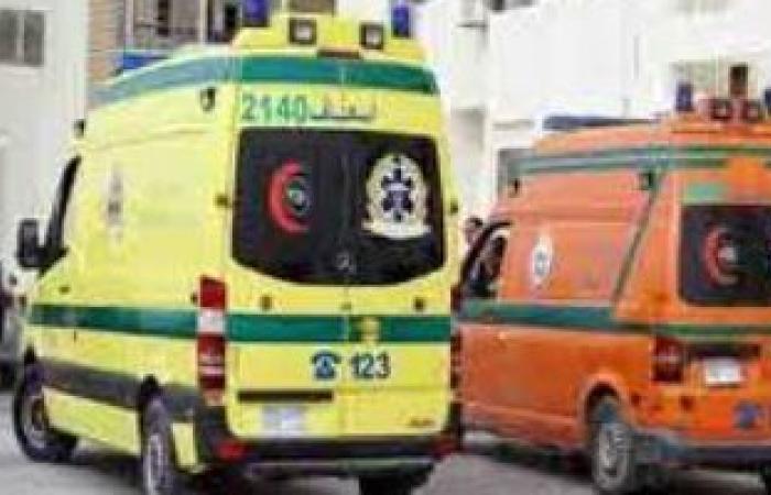 #اليوم السابع - #حوادث - مصرع شخص وإصابة 3 آخرين فى حادث تصادم بصحراوى البحيرة