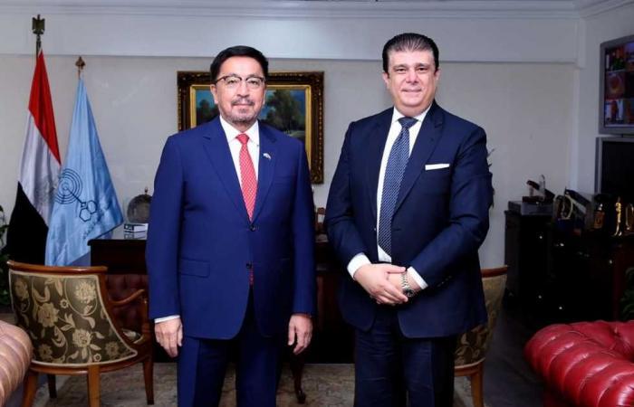 المصري اليوم - اخبار مصر- حسين زين يبحث سبل تعزيز التعاون مع كازاخستان في مختلف المجالات الإعلامية موجز نيوز