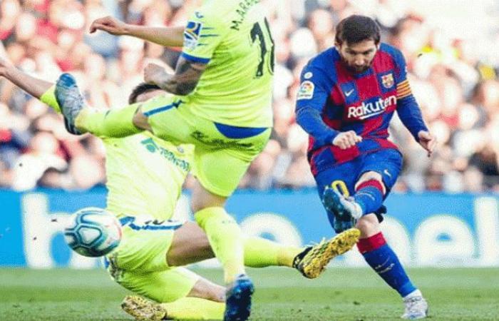 الوفد رياضة - تشكيل برشلونة المتوقع أمام خيتافي .. ميسي في الهجوم موجز نيوز