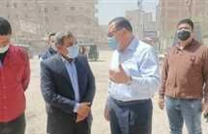 المصري اليوم - اخبار مصر- محافظ الشرقية يُتابع أعمال إصلاح هبوط أرضي بمنطقة القناطر في الزقازيق (صور) موجز نيوز