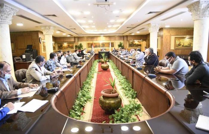 المصري اليوم - اخبار مصر- محافظ الغربية يعقد اجتماعا لمناقشة الموقف التنفيذي لمشروعات الرصف موجز نيوز