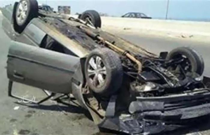 الوفد -الحوادث - التصريح بدفن جثة ضحيتي حادث سيارة كوبري المعصرة موجز نيوز