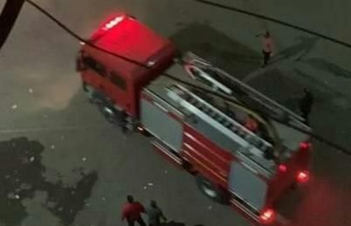 #اليوم السابع - #حوادث - السيطرة على حريق إثر كسر ماسورة غاز فى دمنهور.. صور