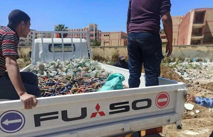 المصري اليوم - اخبار مصر- بالحرق والدفن .. إعدام 300 شيشة في الإسكندرية (صور) موجز نيوز